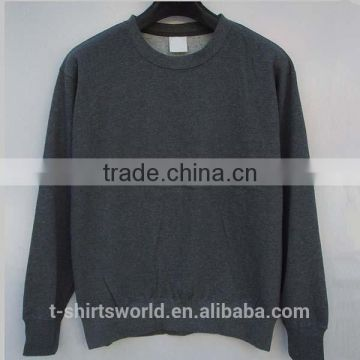 wholesale Men's Heavyweight cotton crewneck sweatshirt