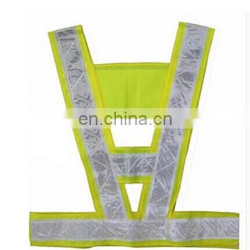 Yellow customized hot sale man's riding vest with low price