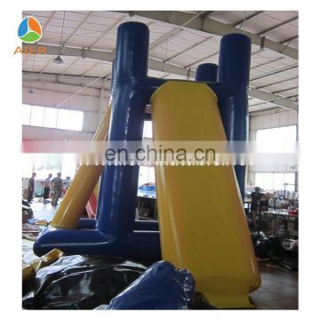 Exciting float jump flip inflatable water blob jump for sale