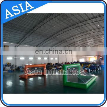 Factory outlet inflatable water polo goal/ inflatable pool goal for advertising