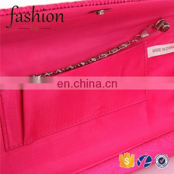 CR Professional reseach and development group western styles polyester material wrinkled rose red color new arrival wholesale pu