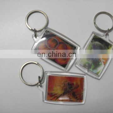 Free Sample Custom Design metal lenticular 3d 3d sneaker shoe keychain with flipping effect