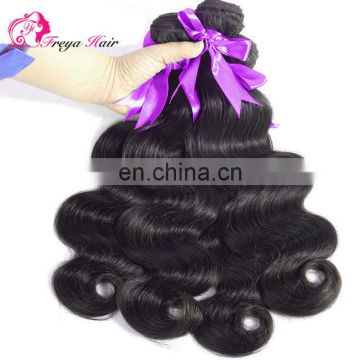 Qingdao Freya hair cheap factory price virgin brazilian human hair
