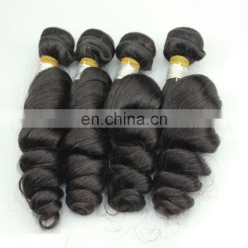 Natural Loose Curly Human Hair Bundles Authentic European Hair extension