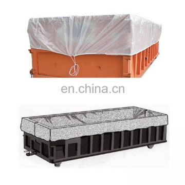 Drawstring Open Top 6 Mil Dumpster Container Liners