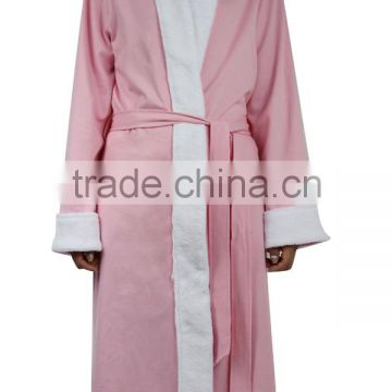 The hot products wholesale cheap ladies pink bathrobe