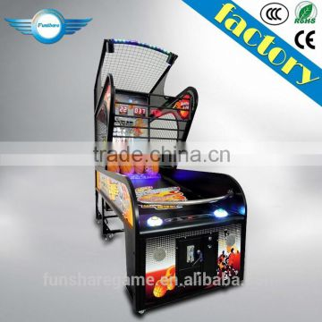 Funshare Street Basketball Arcade Game Machine Basketball Shooting