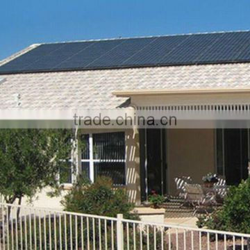 4000w Complete with battery and brackets solar pv system