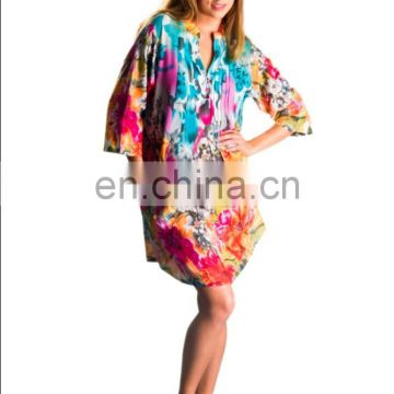 Western dress Women Elegant Tunic Hippe Women Dress Sexy Formal Tunic manufacturer