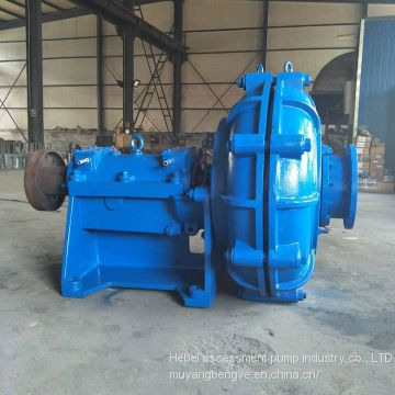 High chrome horizontal slurry pump 6/4 d - AH Marine sand dredging pump