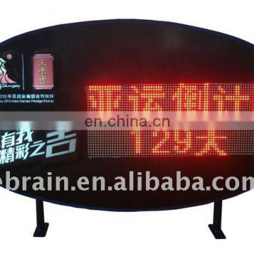 Oval LED Light Box