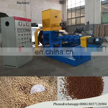 Automatic floating fish feed pellet machine, fish feed making machine, extruder machine for fish feed