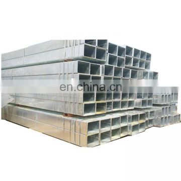 factory price of black rectangular pipe cold rolled pre galvanized welded square / rectangular steel pipe/tube/hollow