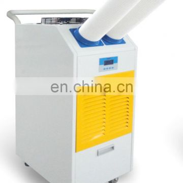 Industrial air cooling air conditioner with flexible cold air hose