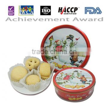 8 8oz Alibaba From China Christmas Danish Butter Cookies Tin