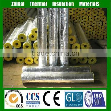 1m long Glass wool pipe/ steam pipe insulation material of