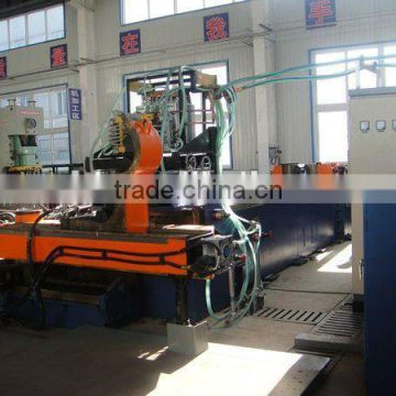 Larger diameter steel tube and pipe bending machine