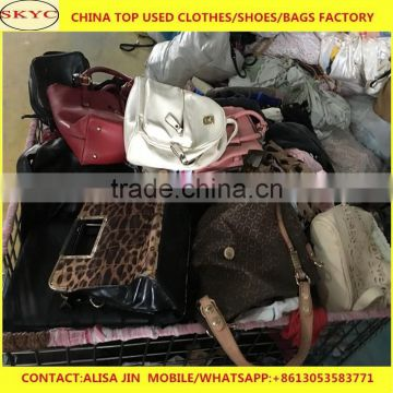 7e0a44540ebd ... fairly used bags in bales wholesale China second hand leather used bags  women men office bags