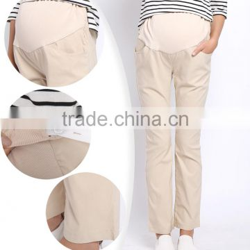 Plus Size Stretch Maternity Clothes Belly Band Trousers ...
