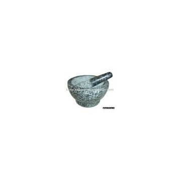 MARBLE MORTAR AND PESTLE 1