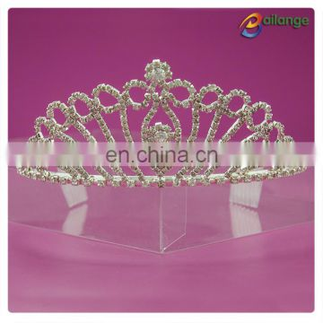 China Hair Accessories rhinestone decorative crown
