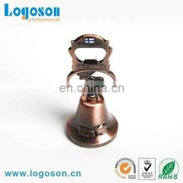 OEM/ODM best quality zinc alloy antique brass souvenir dinner bell