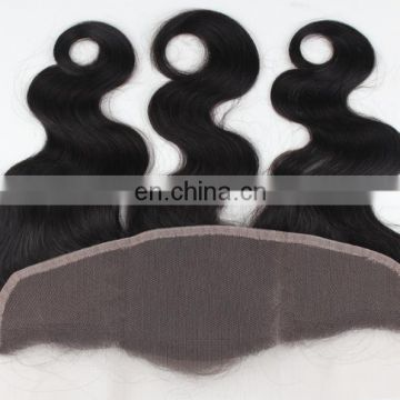 Large Stock Remy Human Hair 13*4 Lace Frontal With Natural Color Hairline and Baby Hair