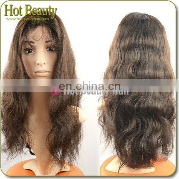 Ample supply and prompt delivery 18 inches long human hair wigs