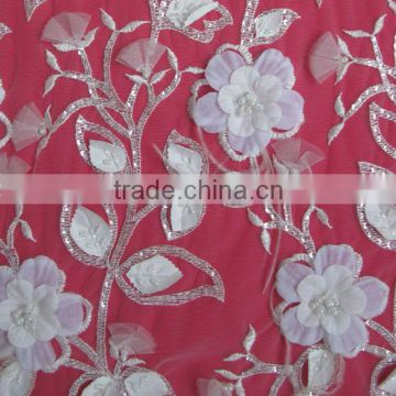 Chic Flower Fabric, Clothing Flower Fabric, New Bridal Lace