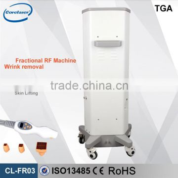 2 in 1 system fractional rf skin renew machine
