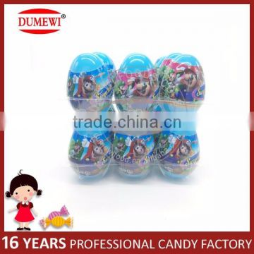 Mario Plastic Surprise Candy Toy Eggs