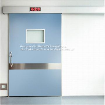 Single Leaf Automatic Sliding Air-Sealed Door for Hospital Laminar Air Flow Clean Operating Theatre