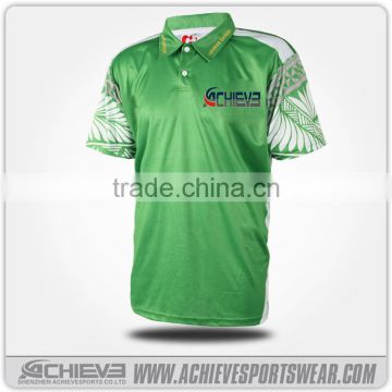 eb61e6ab custom sublimated polo shirt design, no button man polo t-shirt of Polo  Shirts from China Suppliers - 157183116
