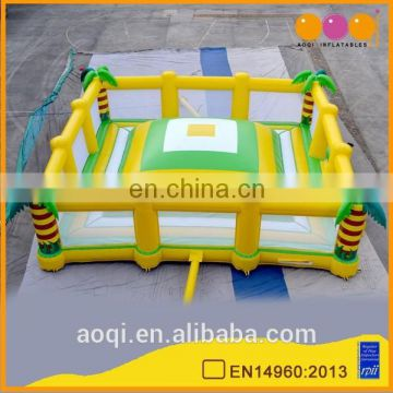 AOQI outdoor inflatable soft mountain climbing game for sale