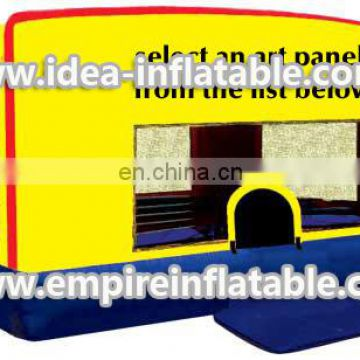 Children playground inflatable bounce house ID-MD1017