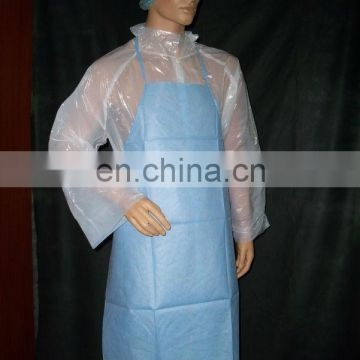 cheap disposable medical PP PE surgical apron