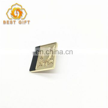 Metal Custom Round Square Style Lapel Pin With Souvenir