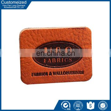 Factory Wholesale PU Labels And PU Materials For Jeans
