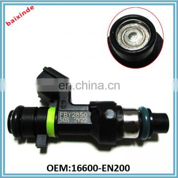 High quality Fuel Injector nozzle 16600-EN200 for Nissans Teana TIIDA X-Trail Qashqai FBY2850 16600EN200