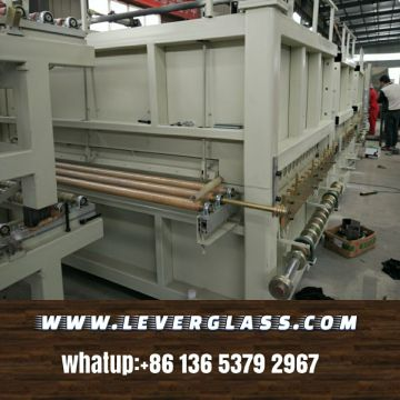 2440 x 3660 Forced Convection Glass Tempering Furnace for low-e glass