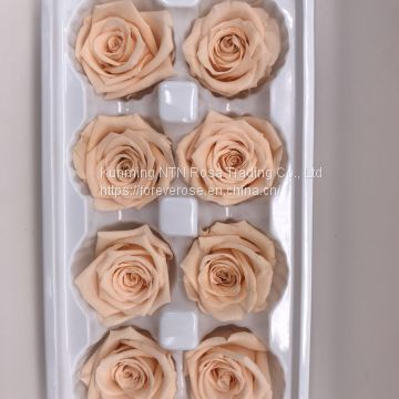 Preserved flowers Wedding bridal bouquets natural eternal  roses