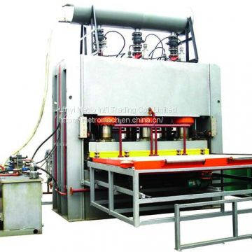 Hydraulic Short Melamine Lamination Press Machine for MDF board