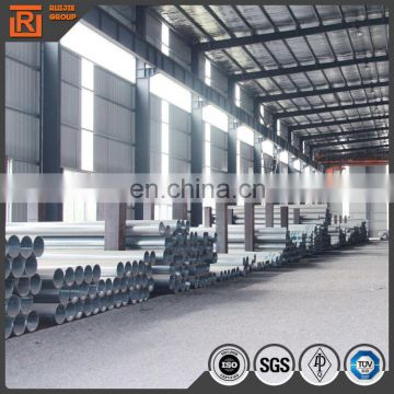 DN80 diameter 33.4mm pre-galvanized erw astm a53 steel pipes