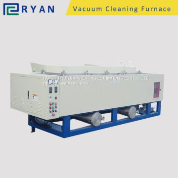 pyrolysis oven for clean PP/PE/PA/ABS from mold and spin pack in plastic material