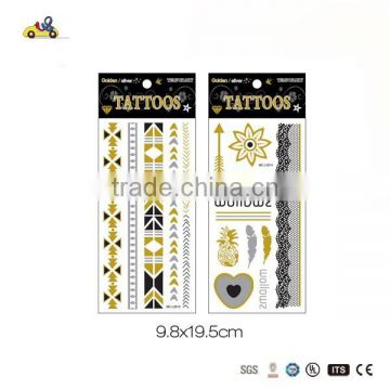 Body Flash Temporary Metallic Tattoo