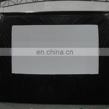 new design outdoor inflatable movie projection screen