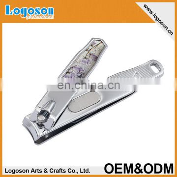 Sharp Metal Fingernail Nail Clippers Cutters Silver Tone custom nail clipper