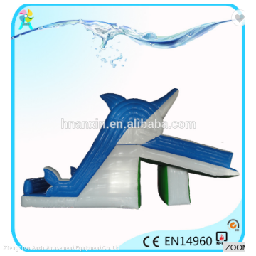 Outdoor playground PVC material Children inflatable Swimming pools slide