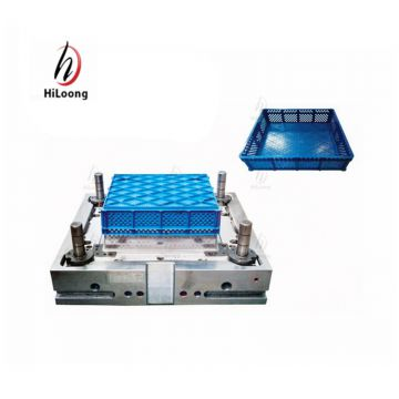 plastic injection molding zhejiang fruit and vegetable crate mold