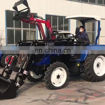 Cheap 45hp 4x4 mini farm tractor price for sale